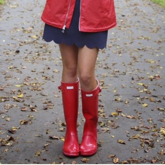 Military Red Glossy Hunter Classic Rain